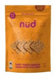 Nud Cheezy Sweet Potato Crackers - 66g