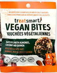 Treatsmart Vegan Bites - Date with Almonds, Coconut, & Quinoa - 42g