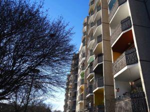 Alte Balkone Ernst-Thälmann-Park Berlin