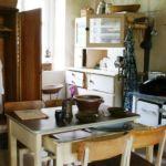 Alte Küche in der Burg Klöden