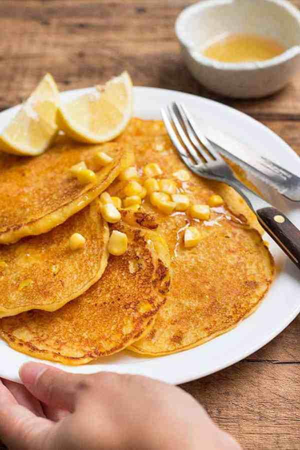 The-Best-Recipe-for-Cornmeal-Pancakes-with-Sweet-Corn