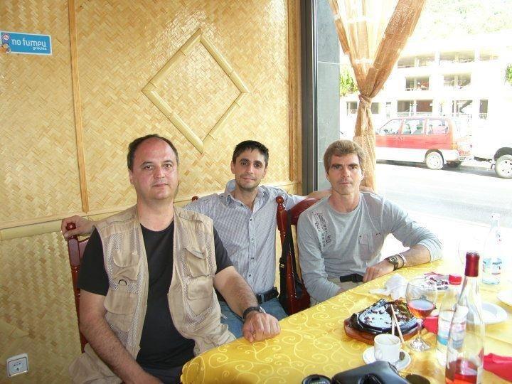 Un día comiendo con dos grandes maestros del kung fu en Menorca