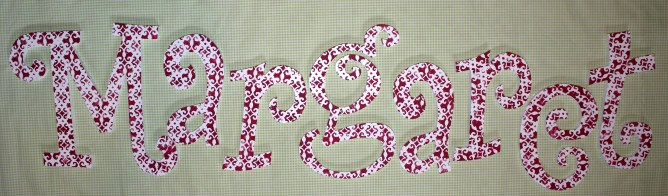"""Curly Custom Name - Polka Dot $15.75 per letter Includes one uppercase followed by lowercase Uppercase 11"""", Lowercase 8"""""""
