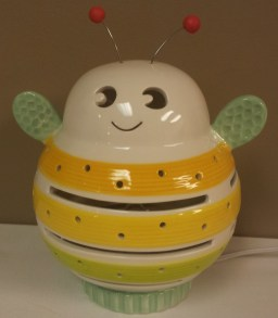 Porcelain Buzzy Bee Night Light $49.00