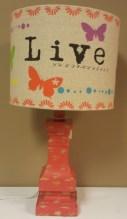 161/2″H Live Lamp $69.00