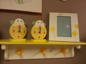 """20""""W Wall Shelf w/Pegs $39.50 Items on shelf sold separately. Click here to BUY"""