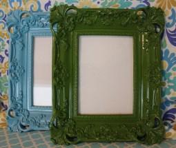 5″x7″ Lacquered Frame $39.00 each- In Aqua or Green Aqua Click here to BUY Green Click here to BUY