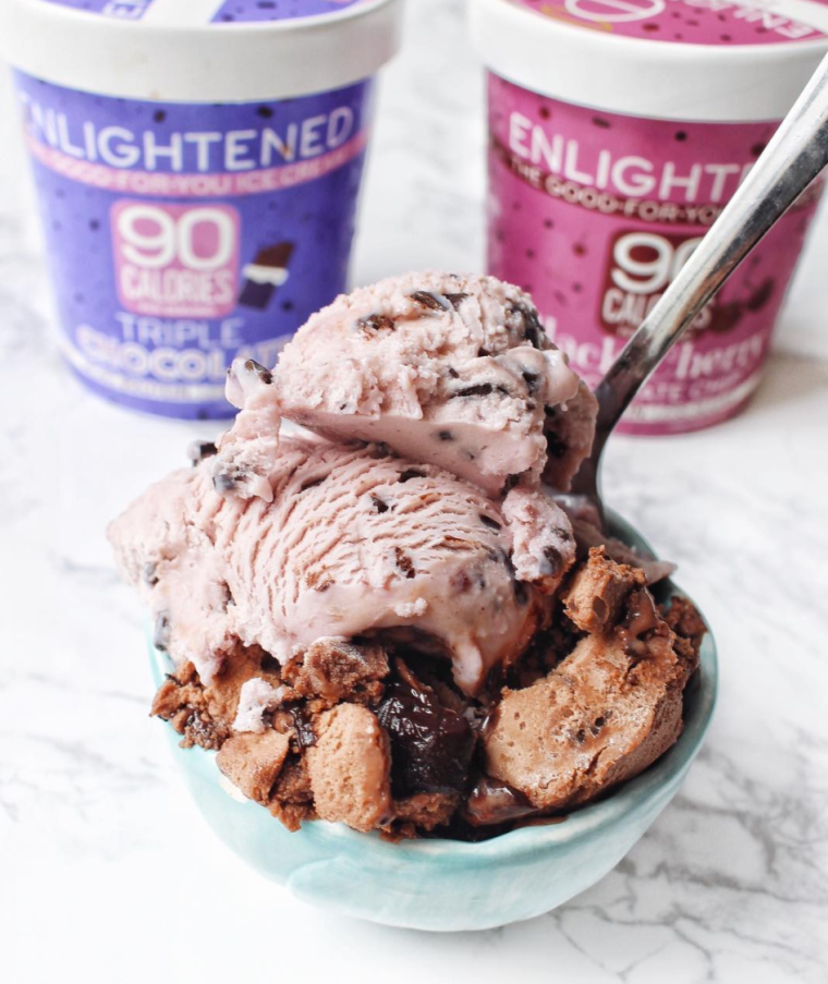 Life After Whole30: Enlightened Low Calorie Low Sugar Ice Cream HUNGRY-BLONDE.COM