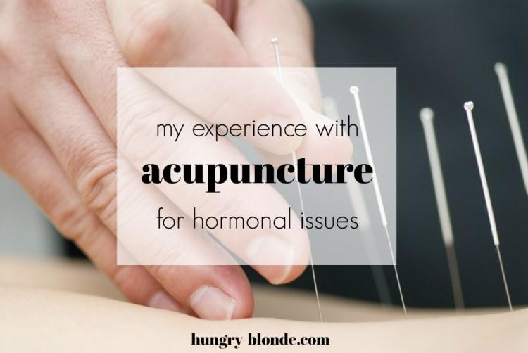 Acupuncture | Hormonal Issues | Regaining Period
