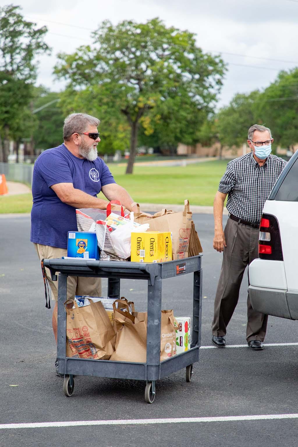 man food drive