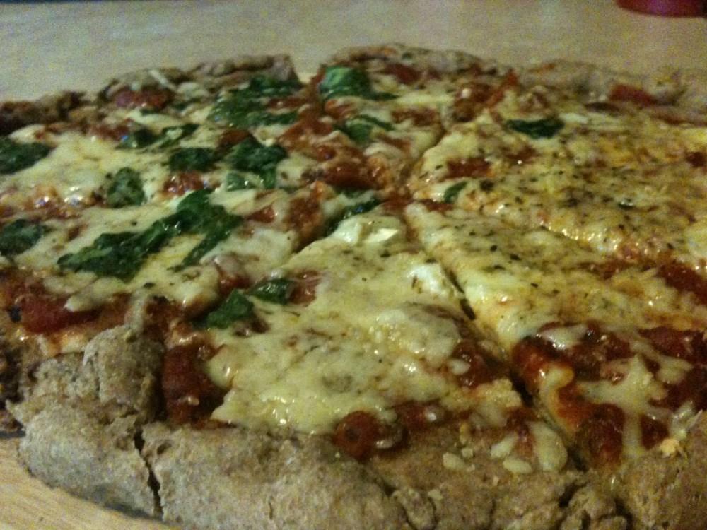 Whole-Wheat Pizza -- No Yeast Necessary (6/6)