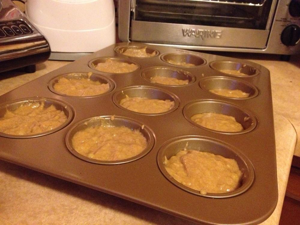 Healthy Whole-Wheat Honey Banana Muffins (6/6)