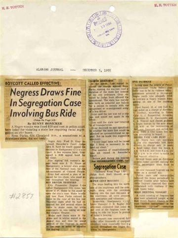 News Clipping Alabama Journal