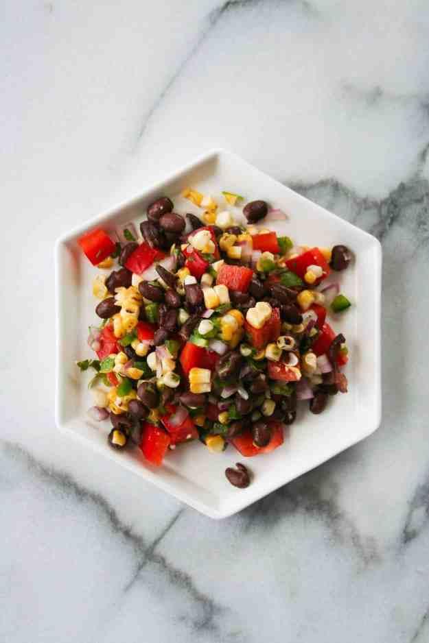 Charred Corn Salsa   hungrybynature.com
