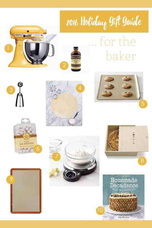 My holiday gift guide for the baker is here - find everything you need for the baker in your life!