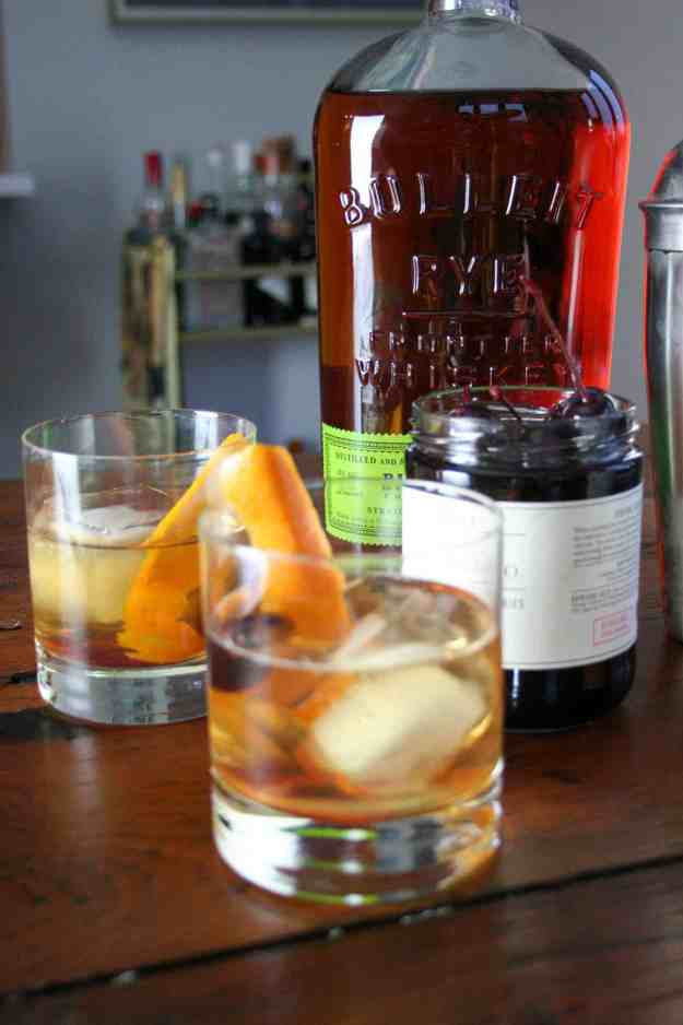 Rye Whiskey Old Fashioned | Lyrics & Libations | whiskey | drink | cocktail | old fashioned | Duke Ellington | John Coltrane | hungrybynature.com