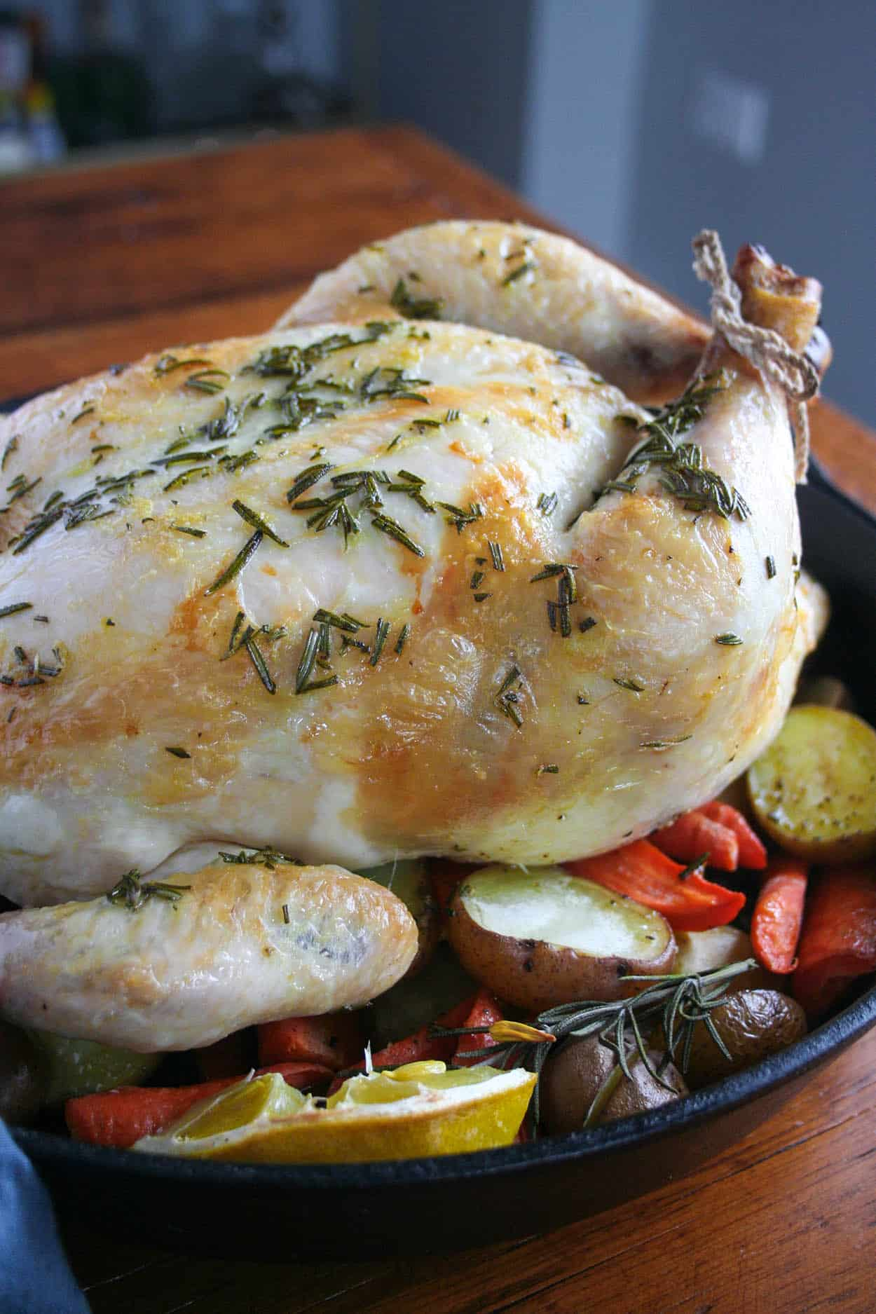 A Naturally Gluten Free Paleo And Whole30 Rosemary Chicken That Is Easy Enough For