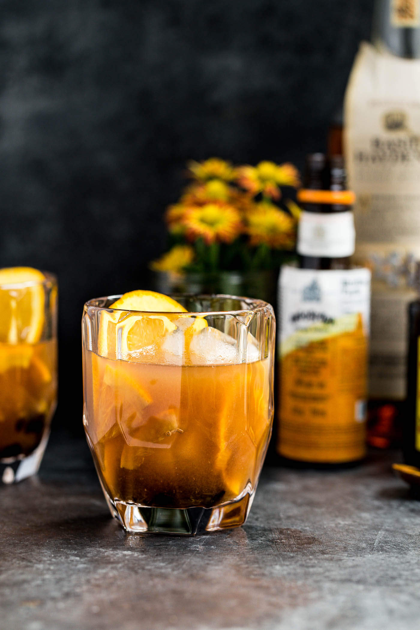 Old fashioned drink with simple syrup Classic Old Fashioned Recipe - m