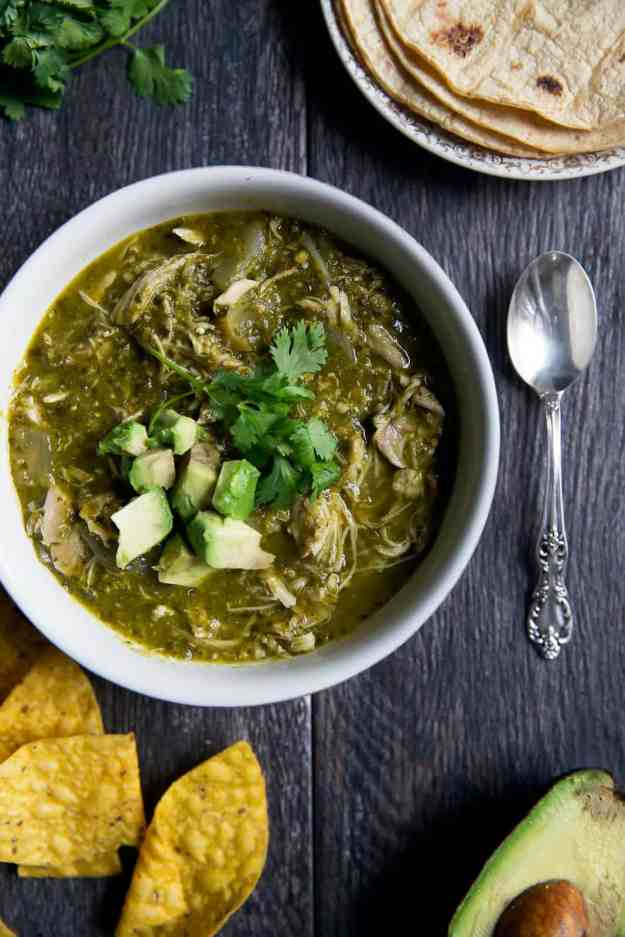paleo slow cooker chile verde