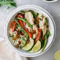 Whole30 Green Curry with Chicken