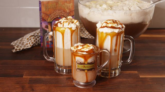 Homemade Butterbeer Shake from Harry Potter