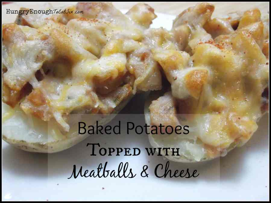 Leftovers On Baked Potatoes!