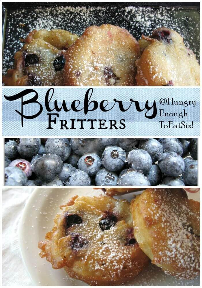 These Blueberry Fritters taste like a cross between pancakes and fried dough