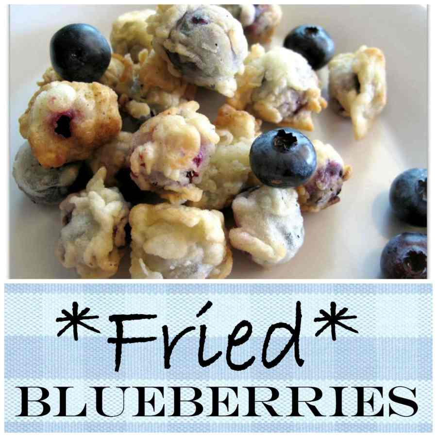 Fried Blueberries