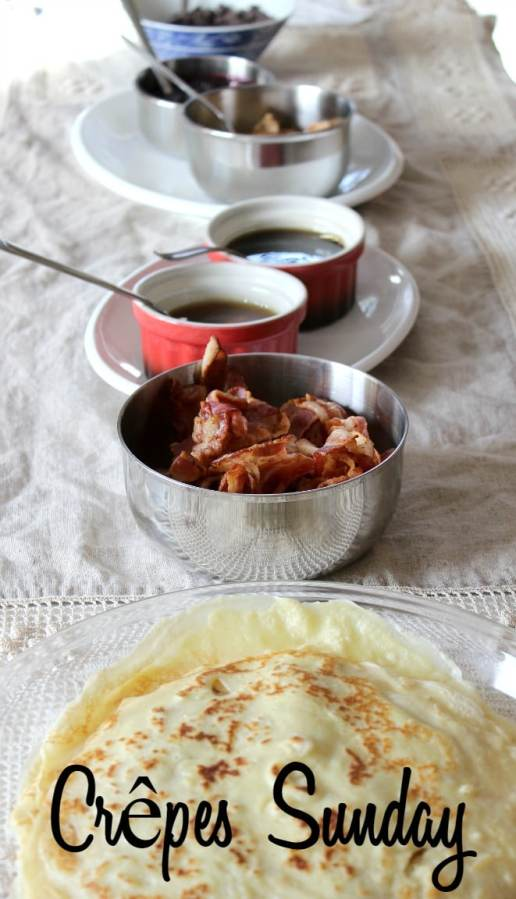 Crêpes Sunday, with Recipes for Crêpes & Two Fruit Sauces