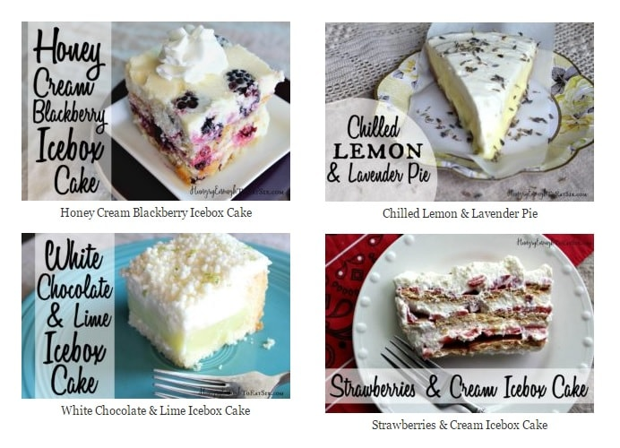 Chill! With 4 No-Bake Refrigerator Desserts