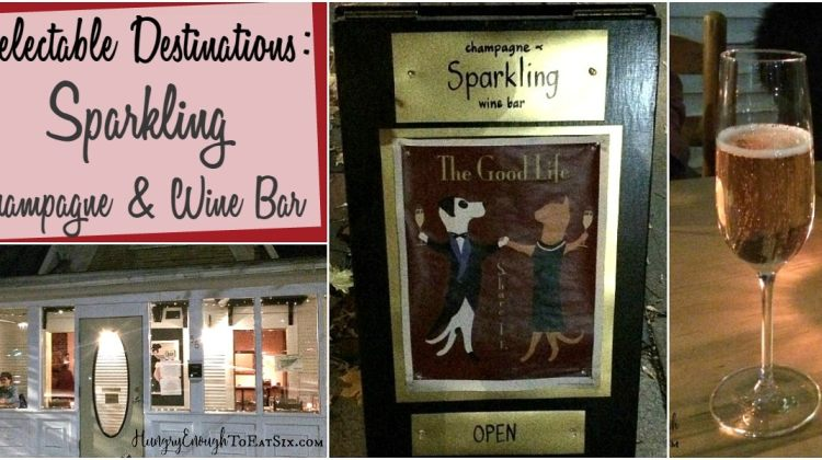 Delectable Destinations: Sparkling, a Champagne & Wine Bar in Middlebury VT