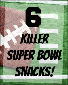 Make these delicious, savory and spicy snacks for your Super Bowl gathering today!
