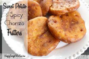 These savory fritters have a lovely combination of sweet and spicy flavors.