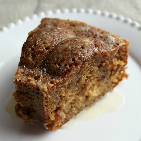 Ocracoke Island Fig Cake is a delicious cake with a lovely, spiced taste from nutmeg, cinnamon and chewy bits of fig throughout!