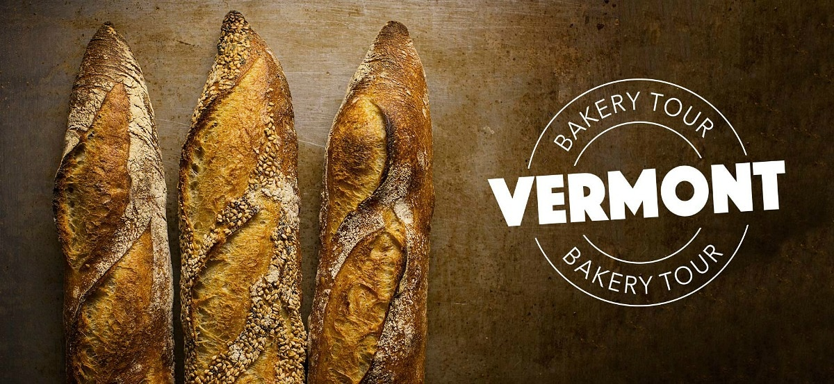 There are 8 bakeries on King Arthur Flour's Vermont Bakery Tour. Join me as I try them all!