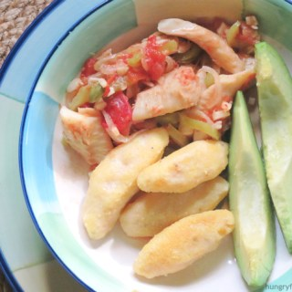 Bacalao Guisado (Stewed Salted Cod)