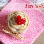 Brown Butter Strawberry Muffins