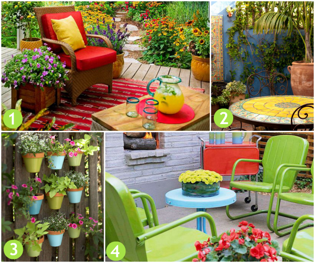Patio Decor Inspired by Pinterest - #Pier1Outdoors #Ad