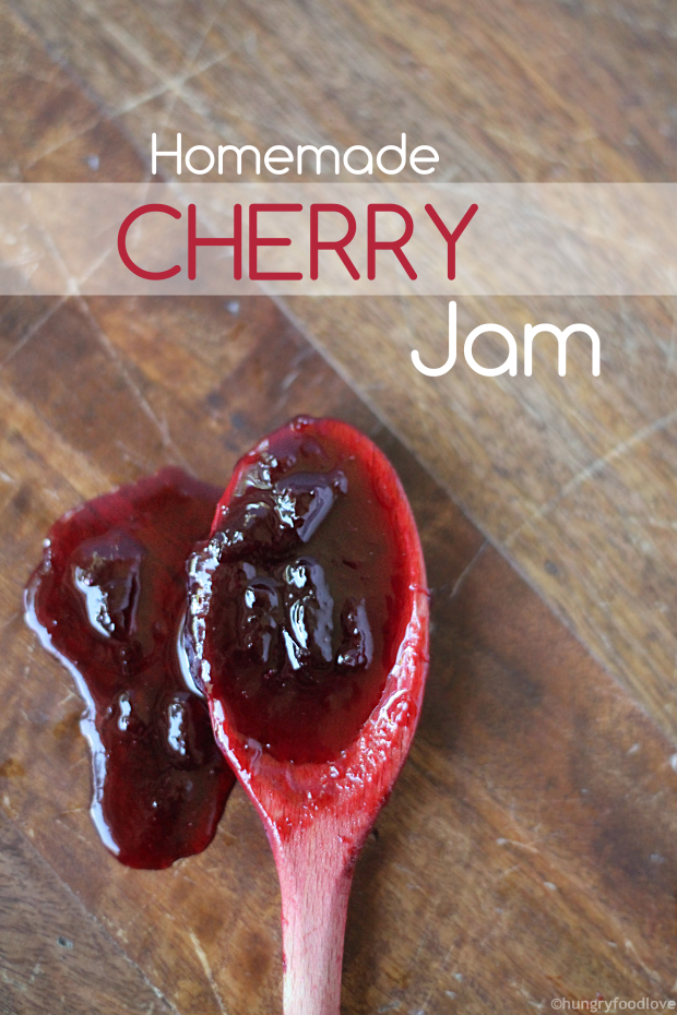 Homemade Cherry Jam