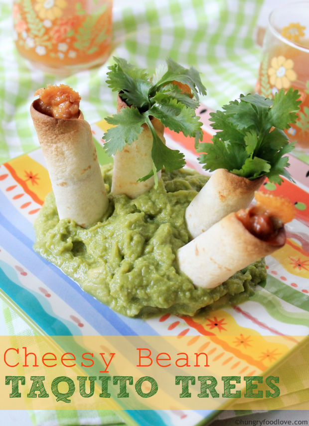PERFECT for KIDS! --- Cheese Bean Taquito Trees