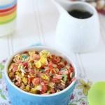 Rainbow Baked Oatmeal