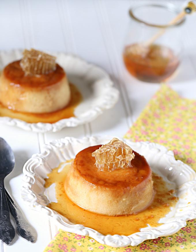 Honey Flan de Miel