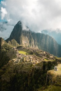 Travel and Adventure Photo - Overlooking Machu Picchu City at the Classic Viewpoint