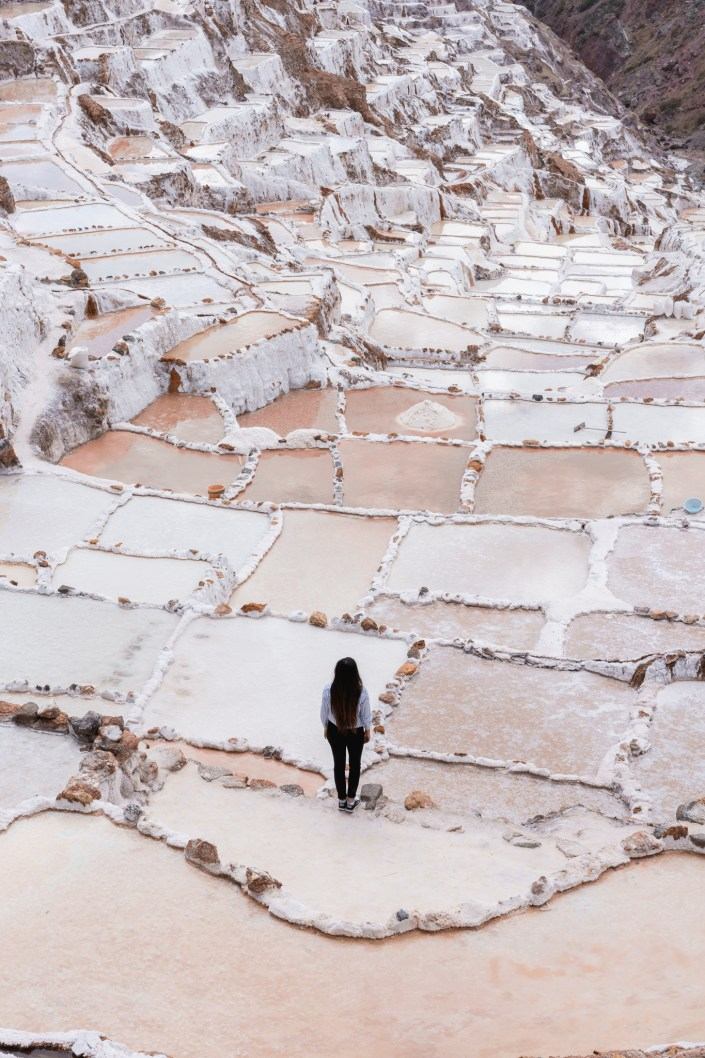 Travel and Adventure Photo - Overlooking Maras Salt Mines in Peru