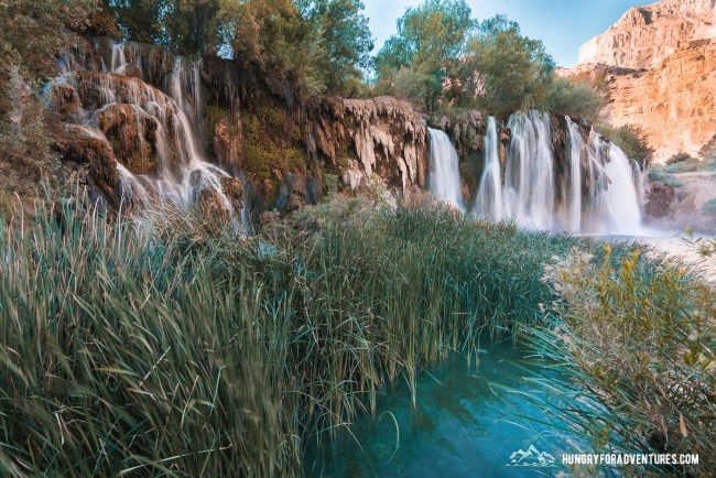 50 Foot Falls By Havasu Falls