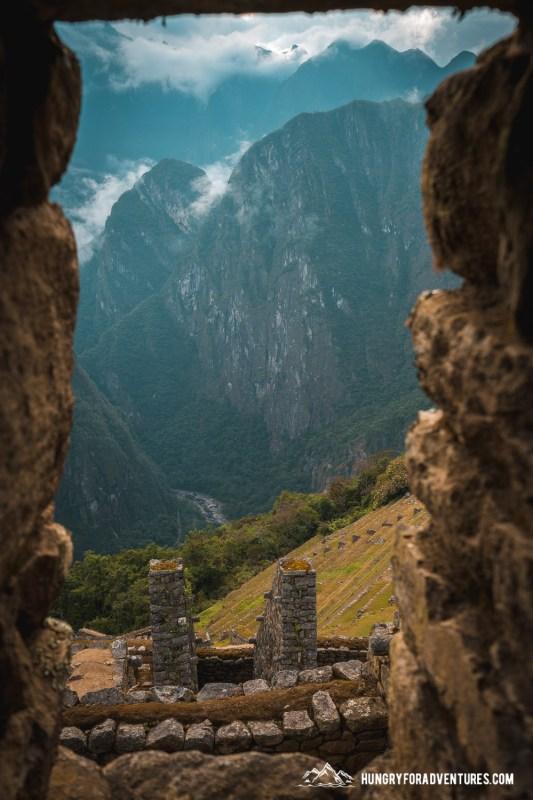 Ancient Window at Machu Picchu