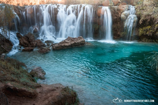 Little Navajo Falls at Havasupai