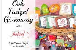 Ooh Fudge! A Delicious Giveaway