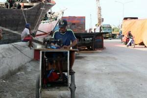 Nähservice Jakarta Hafen