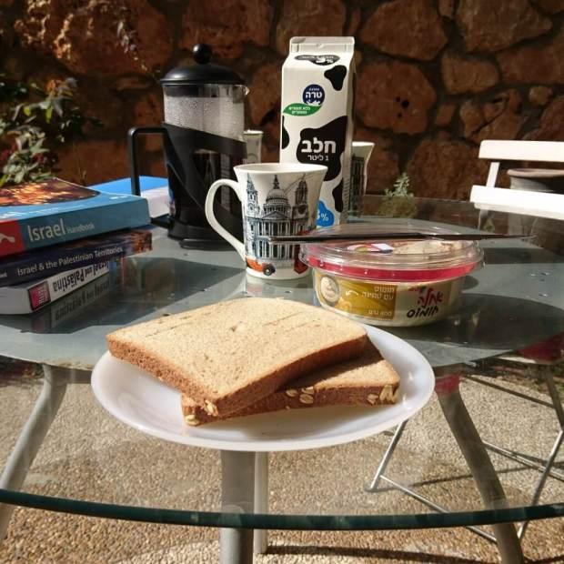 Frühstück in Haifa